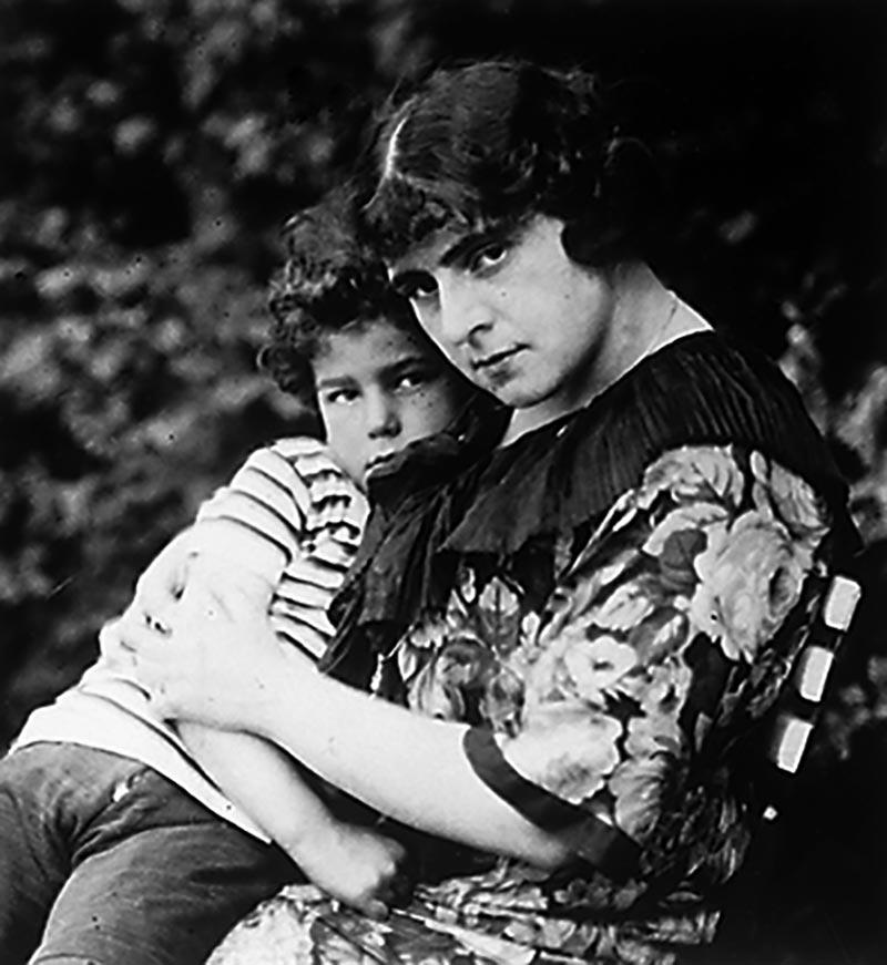 Th.St. und Klaus, ca. 1914, Fotograf unbekannt, DLA