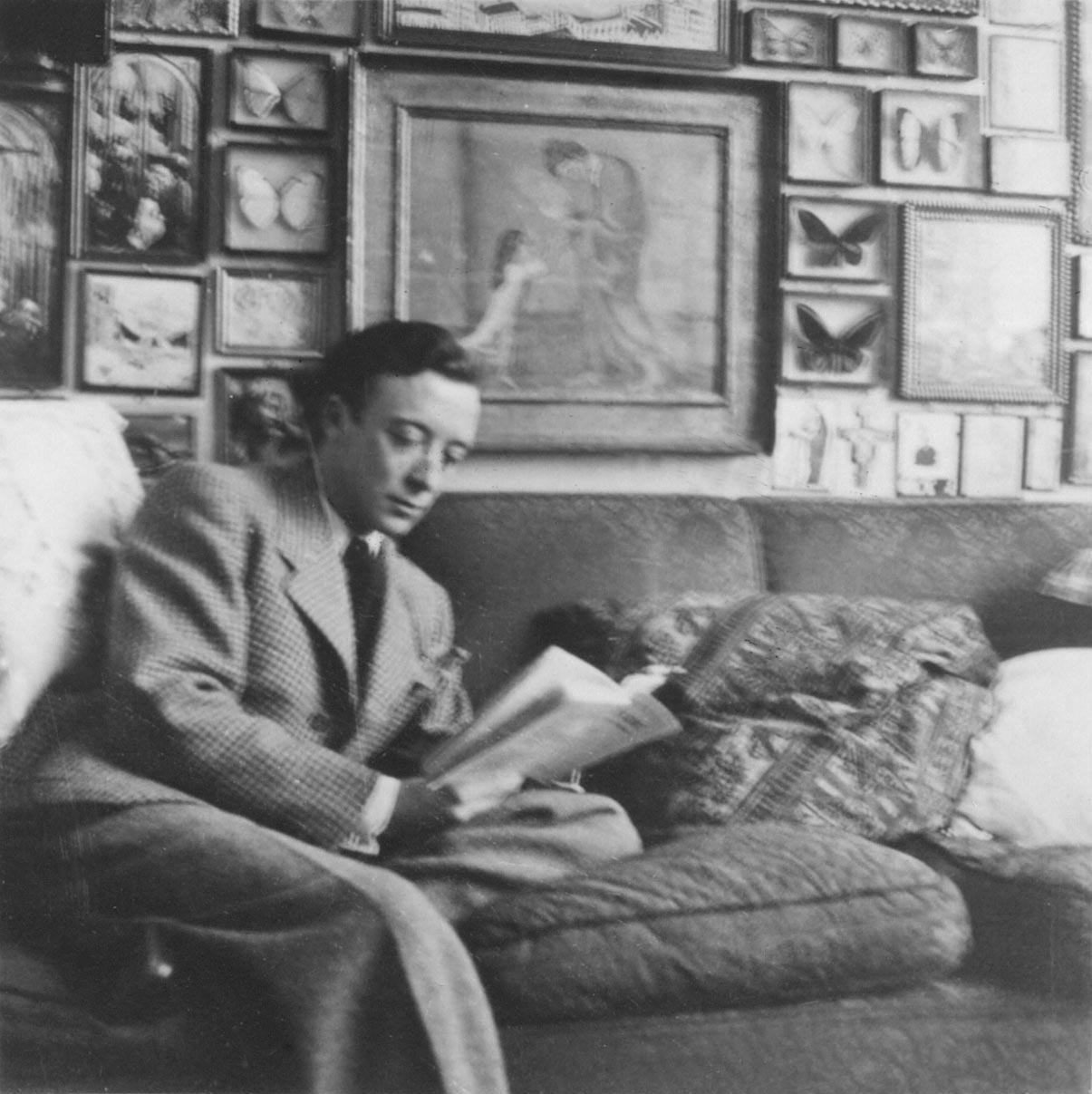 Herman de Cunsel vor Picassos ›La soupe‹ in Th.St.s Wohnung